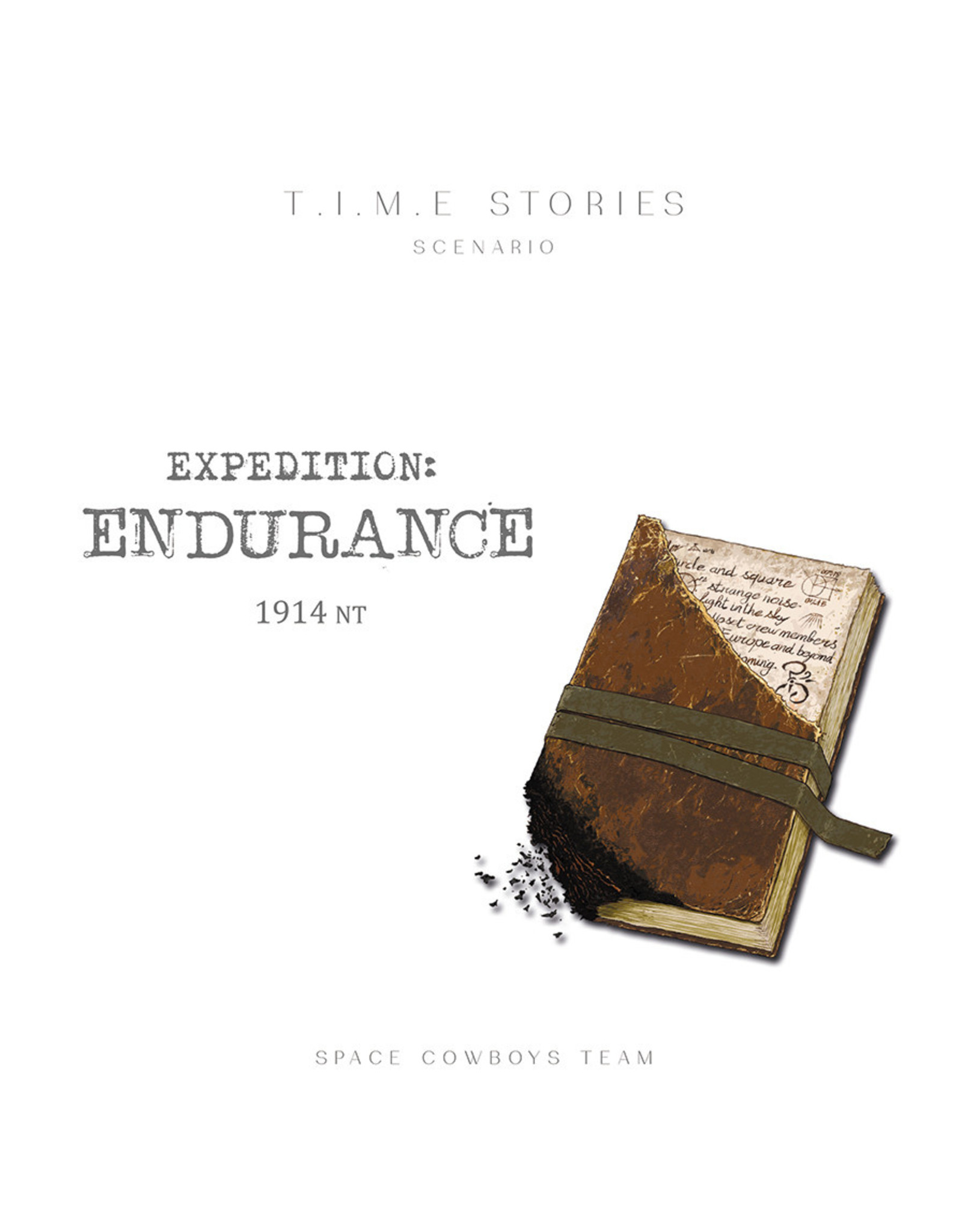 Space Cowboys TIME Stories Expedition Endurance Expansion