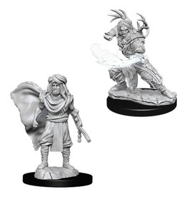 WizKids D&D Minis (unpainted): Human Druid (male) Wave 6, 73390