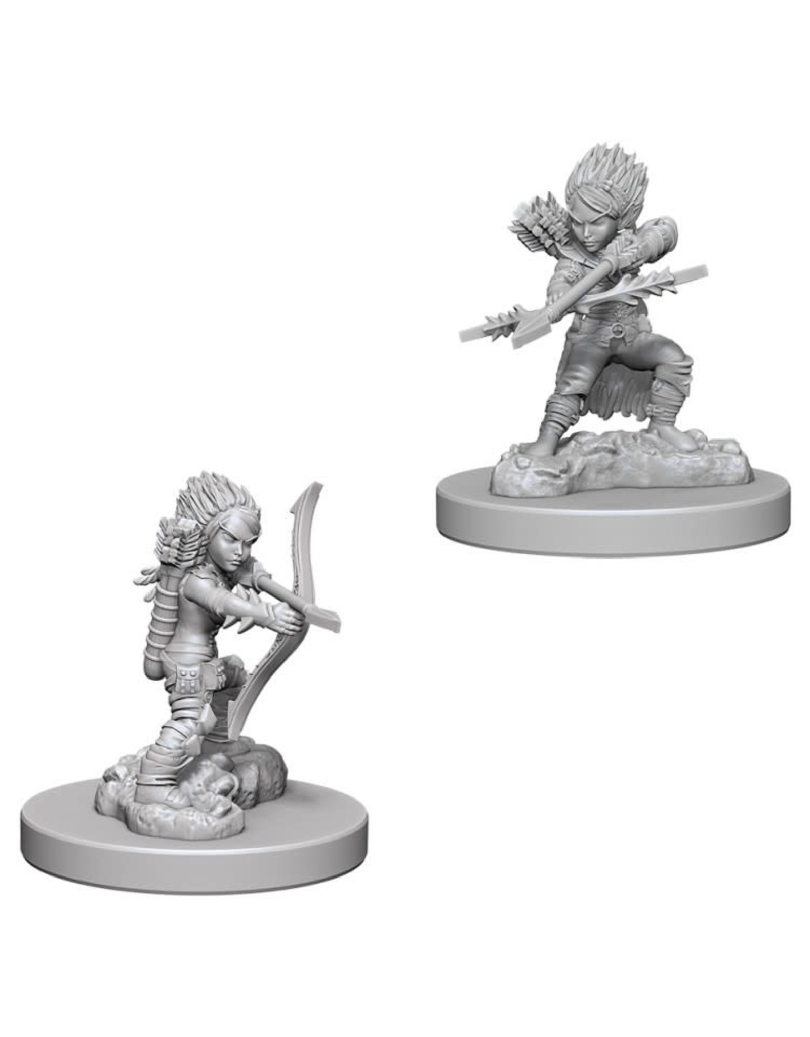 WizKids Pathfinder Minis (unpainted): Gnome Rogue (female) Wave 6 73408