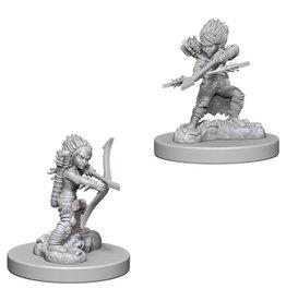 WizKids Pathfinder Minis (unpainted): Gnome Rogue (female) Wave 6 73408