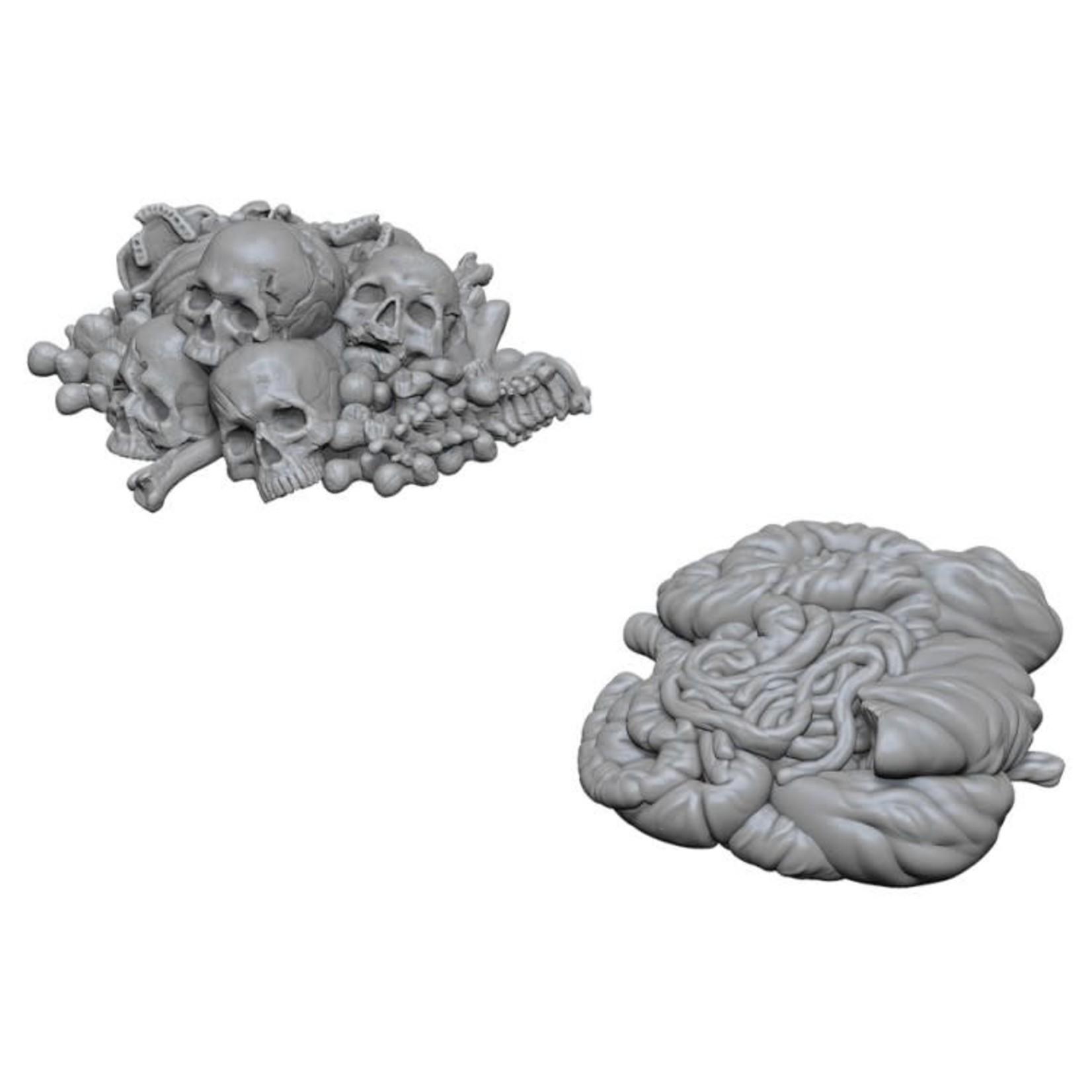 WizKids D&D Minis (unpainted): Pile of Bones & Entrails Wave 6, 73422