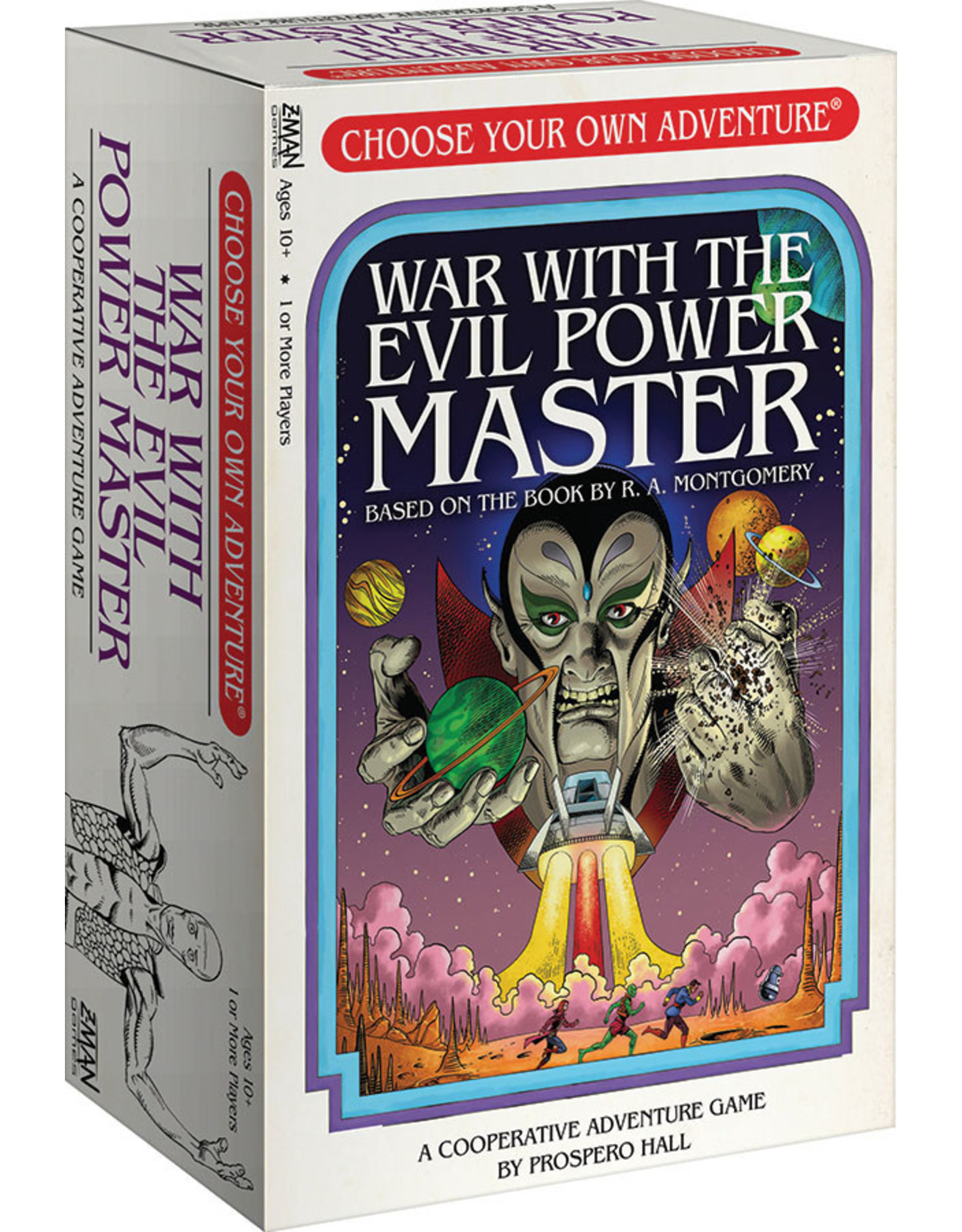 Z-MAN Games Choose Your Adventure War with the Evil Power Master