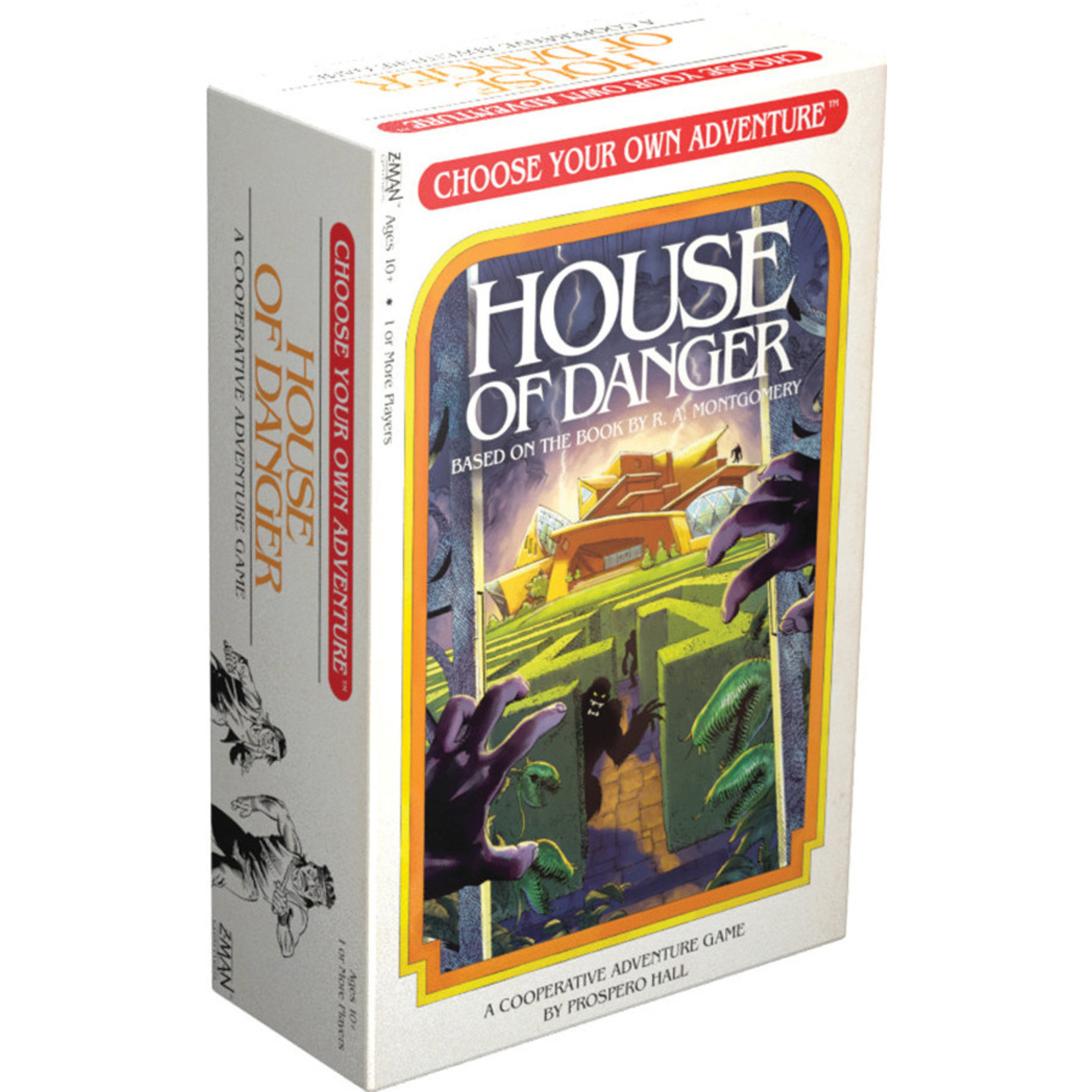 Z-MAN Games Choose Your Adventure House of Danger