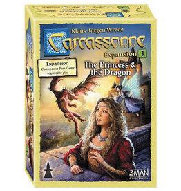 Z-MAN Games Carcassonne 3 Princess & Dragon