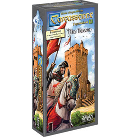 Z-MAN Games Carcassonne 4 The Tower