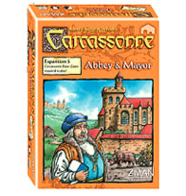 Z-MAN Games Carcassonne 5 Abbey & Mayor