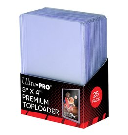 Ultra Pro Toploader 3x4 Hard Sleeves Premium (25)