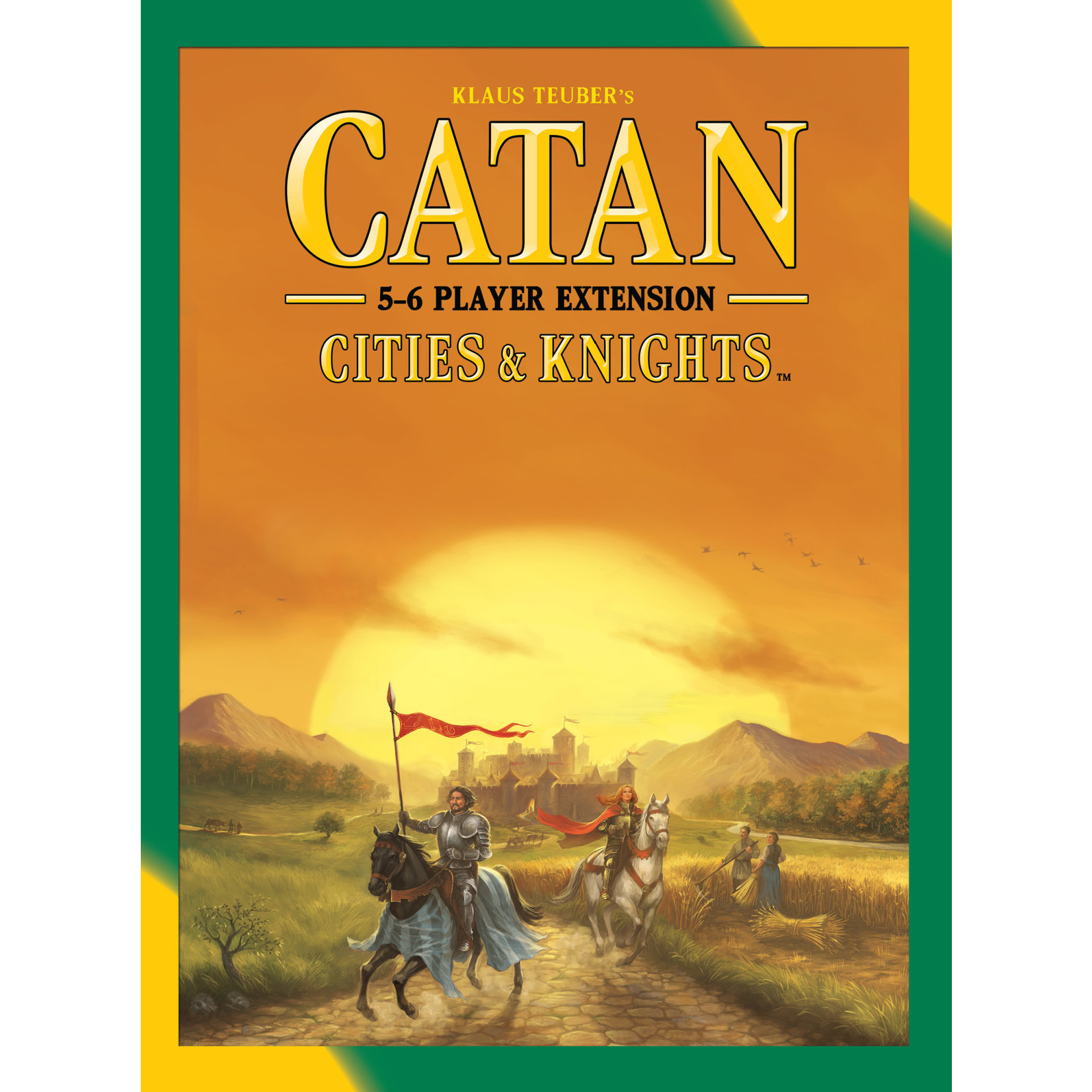 Catan Studio Catan Cities and Knights 5-6 Player Extension