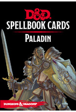 Gale Force Nine D&D 5e Spellbook Cards - Paladin