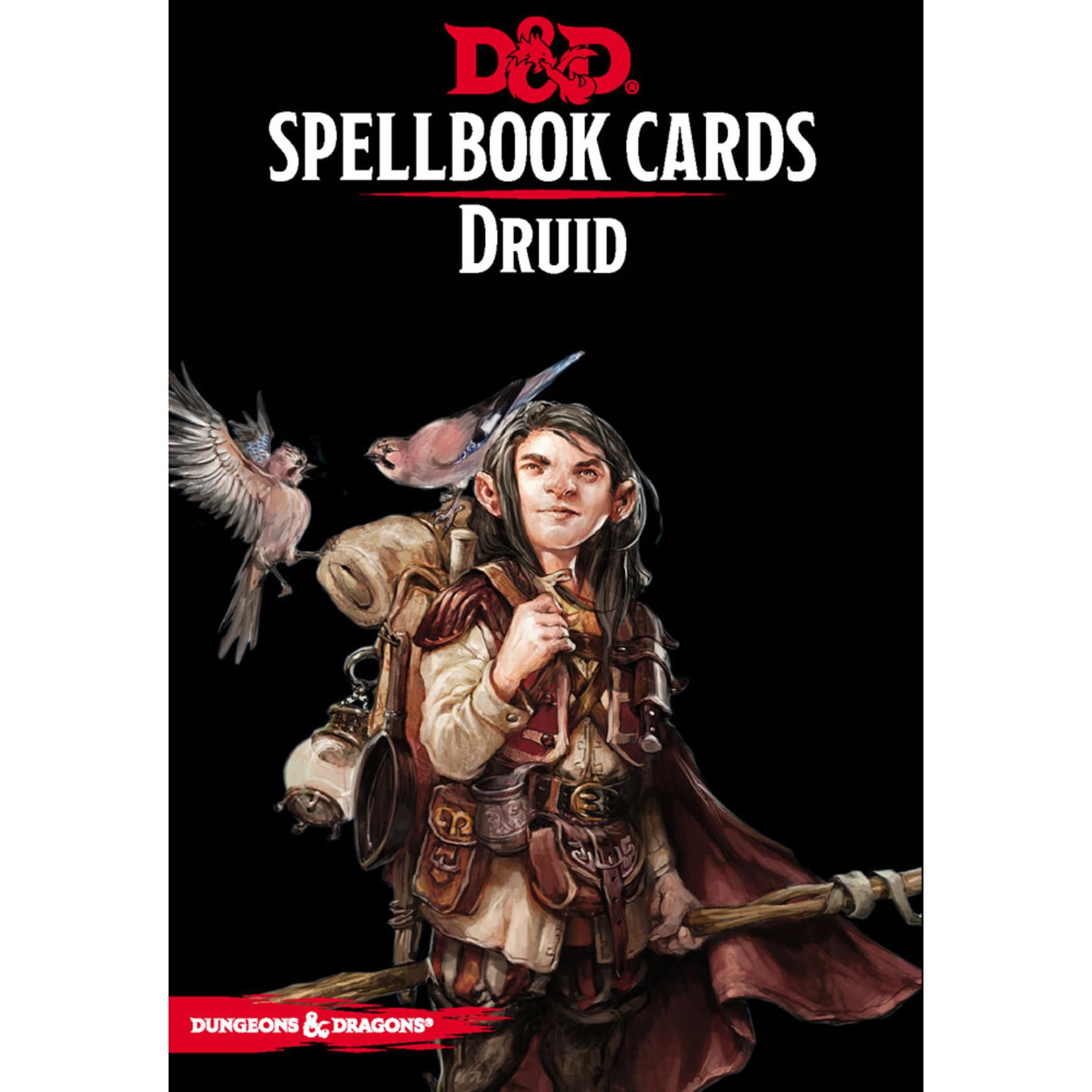 Gale Force Nine D&D 5e Spellbook Cards - Druid
