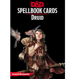 Gale Force Nine D&D 5e Spellbook Cards - Druid