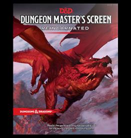Dungeons & Dragons D&D 5e DM Screen Reincarnated