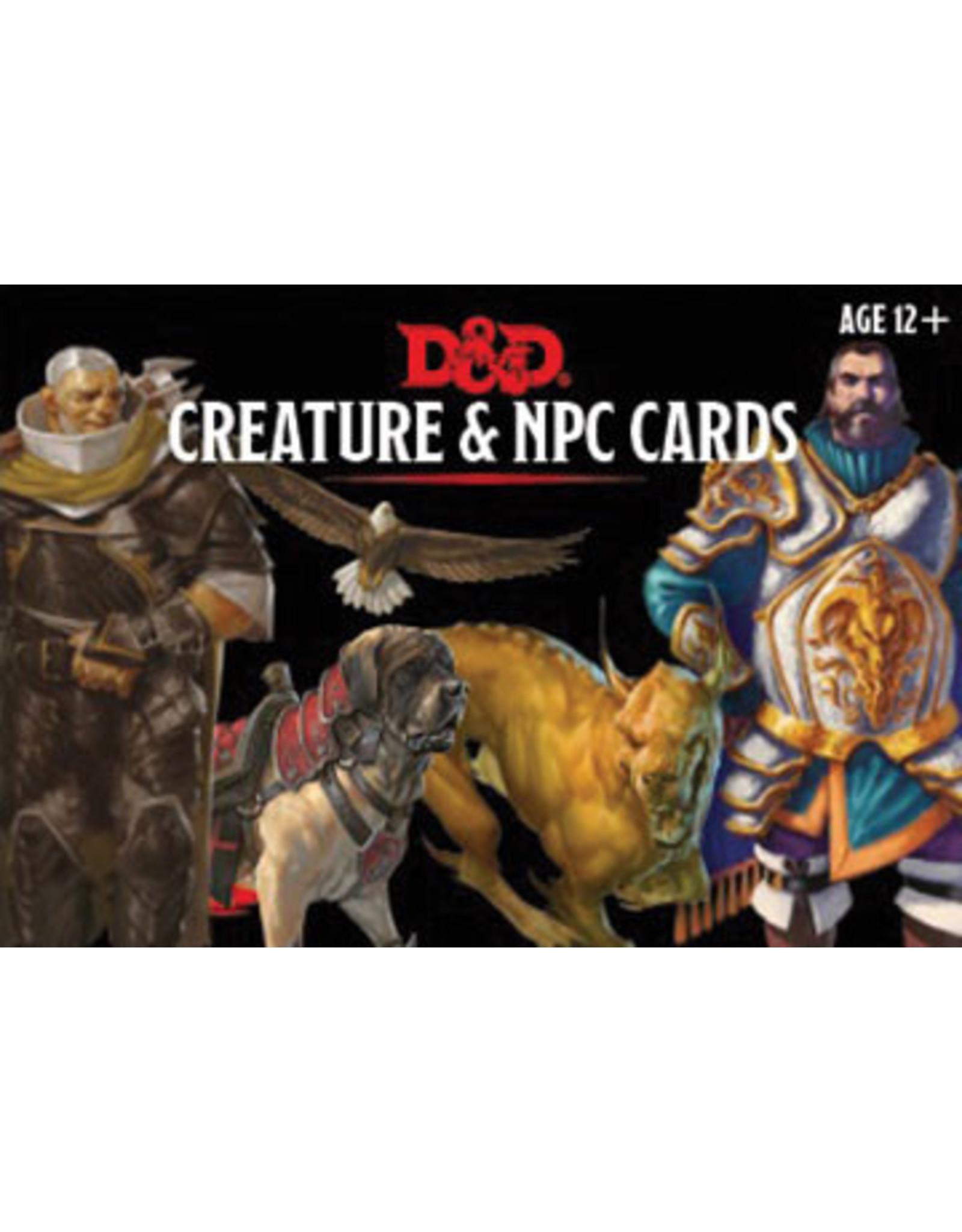 Gale Force Nine D&D 5E Monster Cards - Creature & NPC