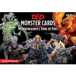 Gale Force Nine D&D 5e Monster Cards - Mordenkainen's Tome of Foes