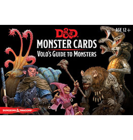 Gale Force Nine D&D 5e Monster Cards Volo's Guide to Monsters CR 1-16