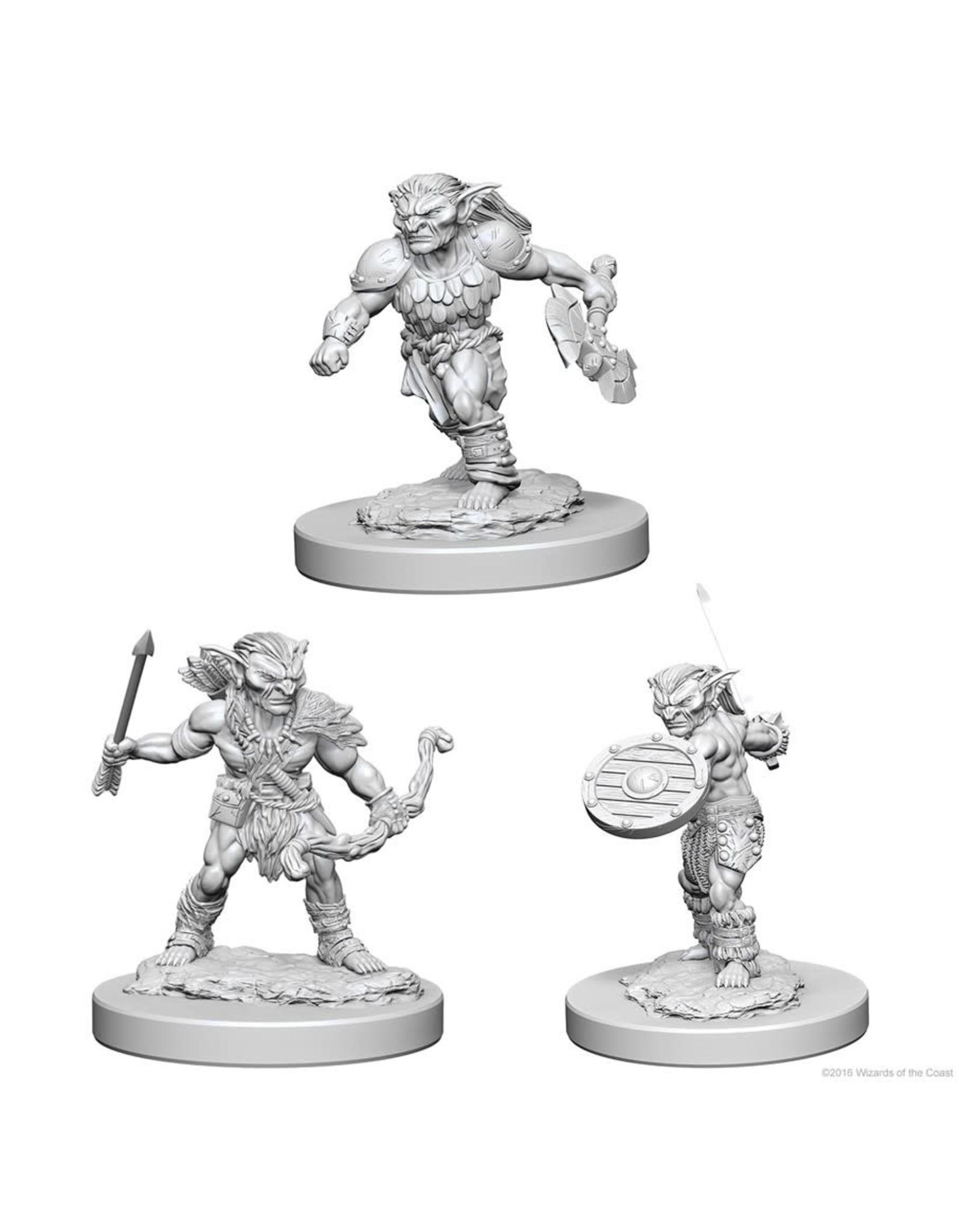 WizKids D&D Minis (unpainted): Goblins Wave 1, 72556