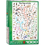 Eurographics Evolution Tree of Life - 1000 Piece Jigsaw Puzzle