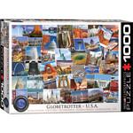 Eurographics Globetrotter US - 1000 Piece Jigsaw Puzzle