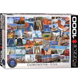Eurographics Globetrotter US 1000pc Puzzle