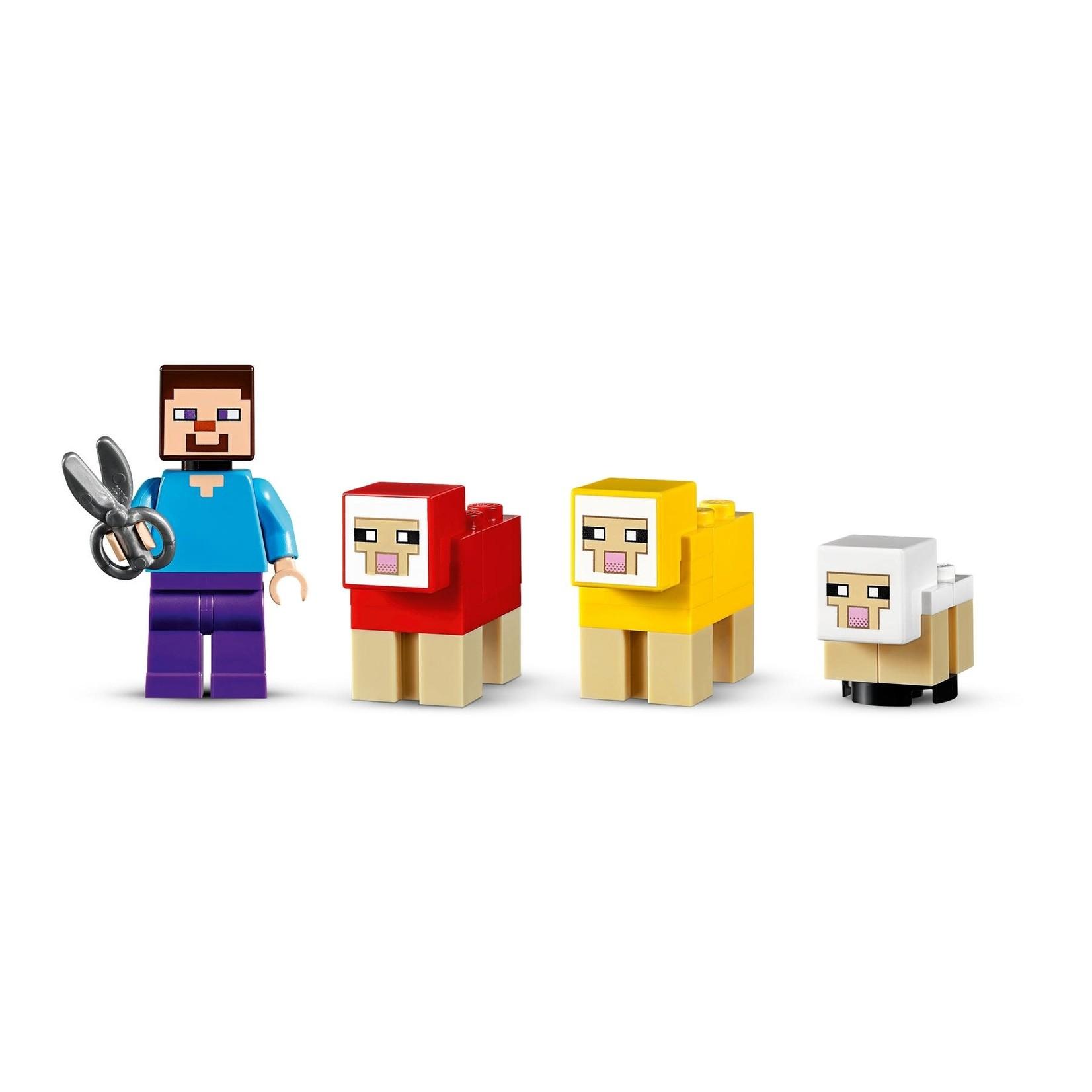 LEGO LEGO Minecraft The Wool Farm