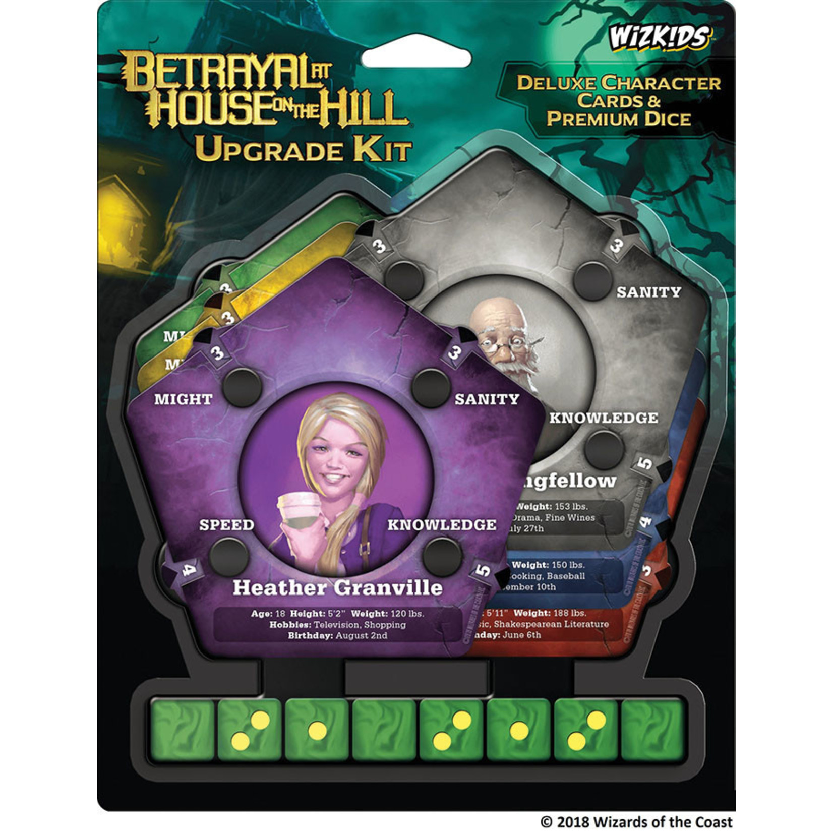 WizKids Betrayal at House on the Hill Upgrade Kit