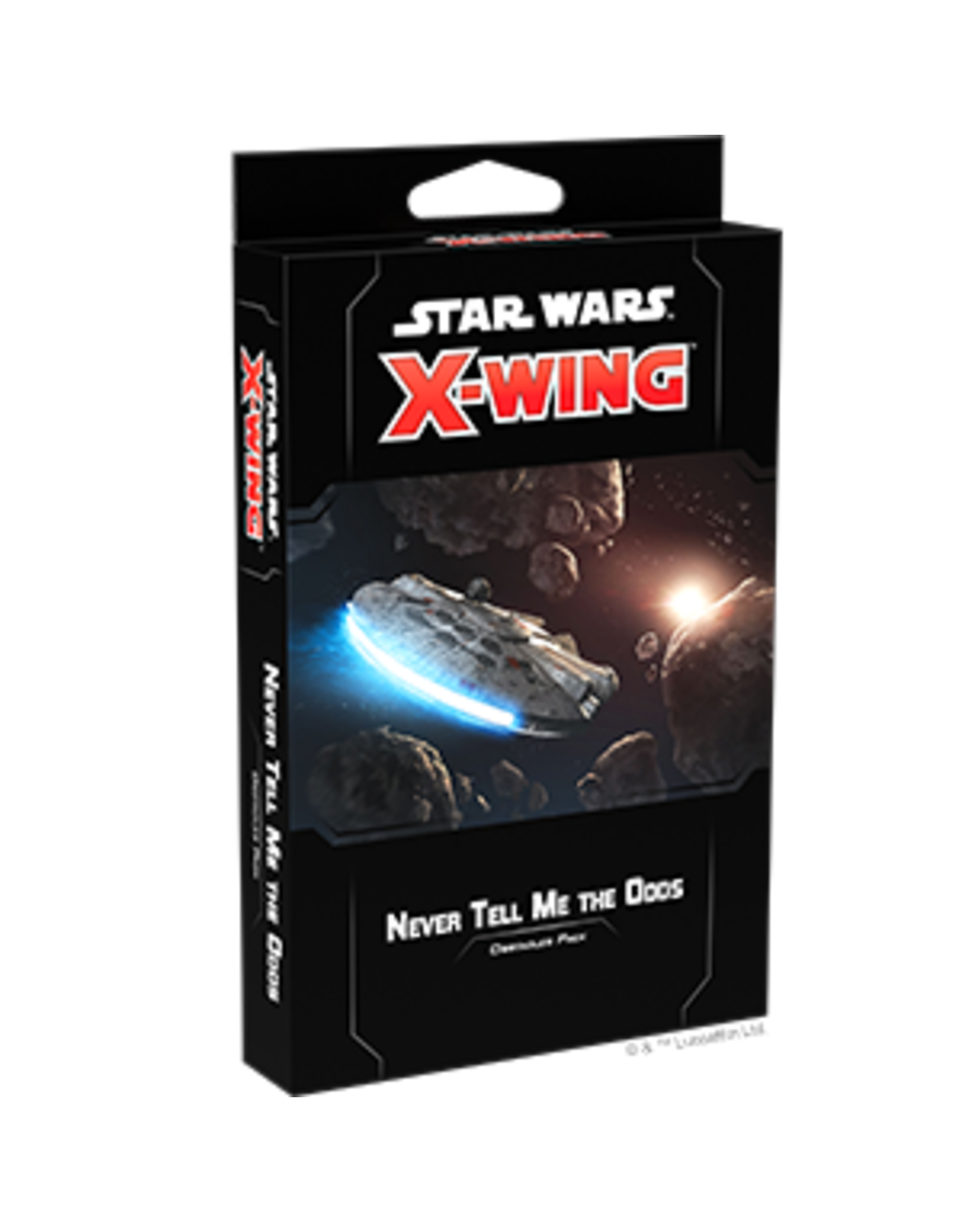 Fantasy Flight Games Star Wars X-Wing 2nd Edition: Never Tell Me the Odds Obstacle ExpansionPack