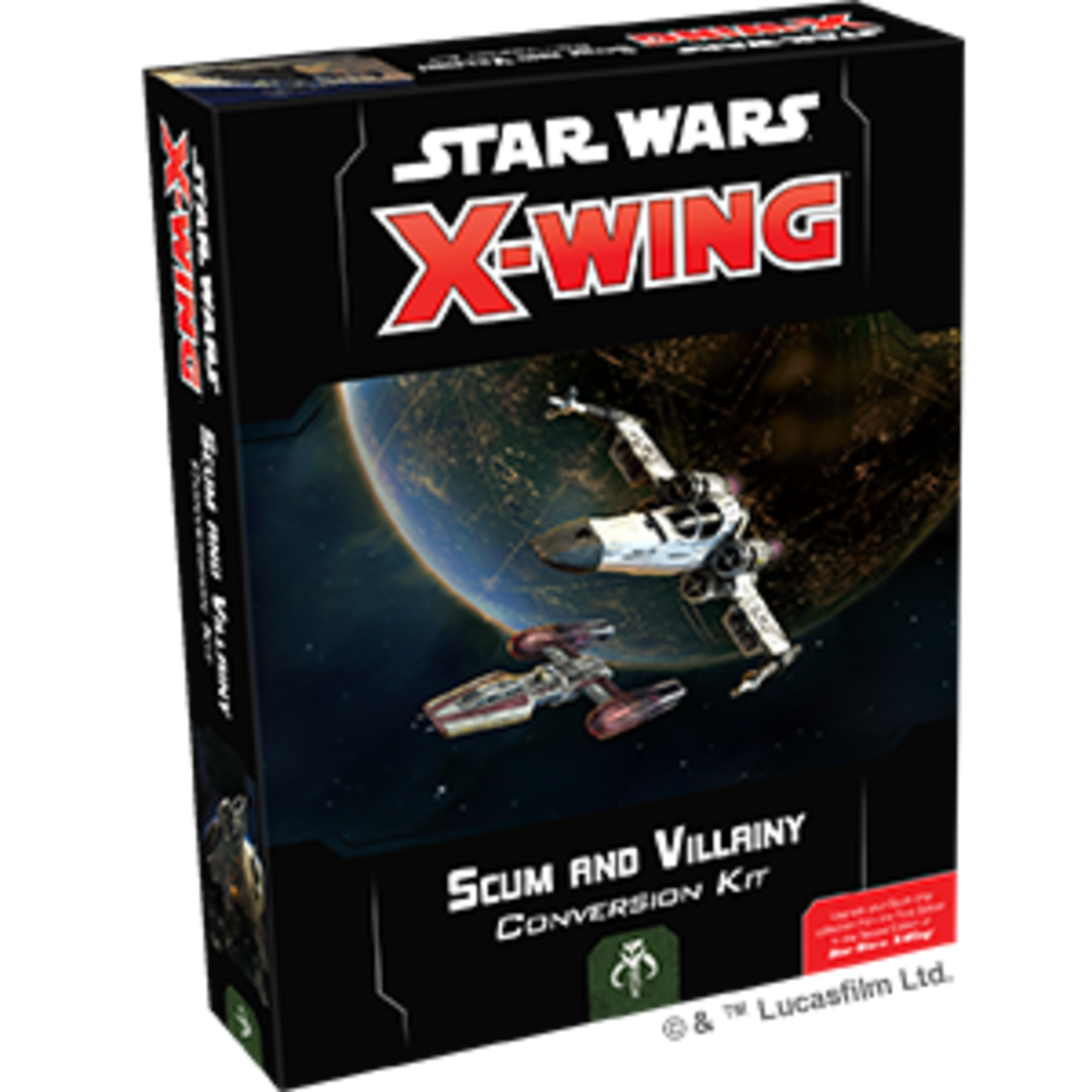 Fantasy Flight Games Star Wars X-Wing 2nd Edition: Scum Conversion Expansion Kit