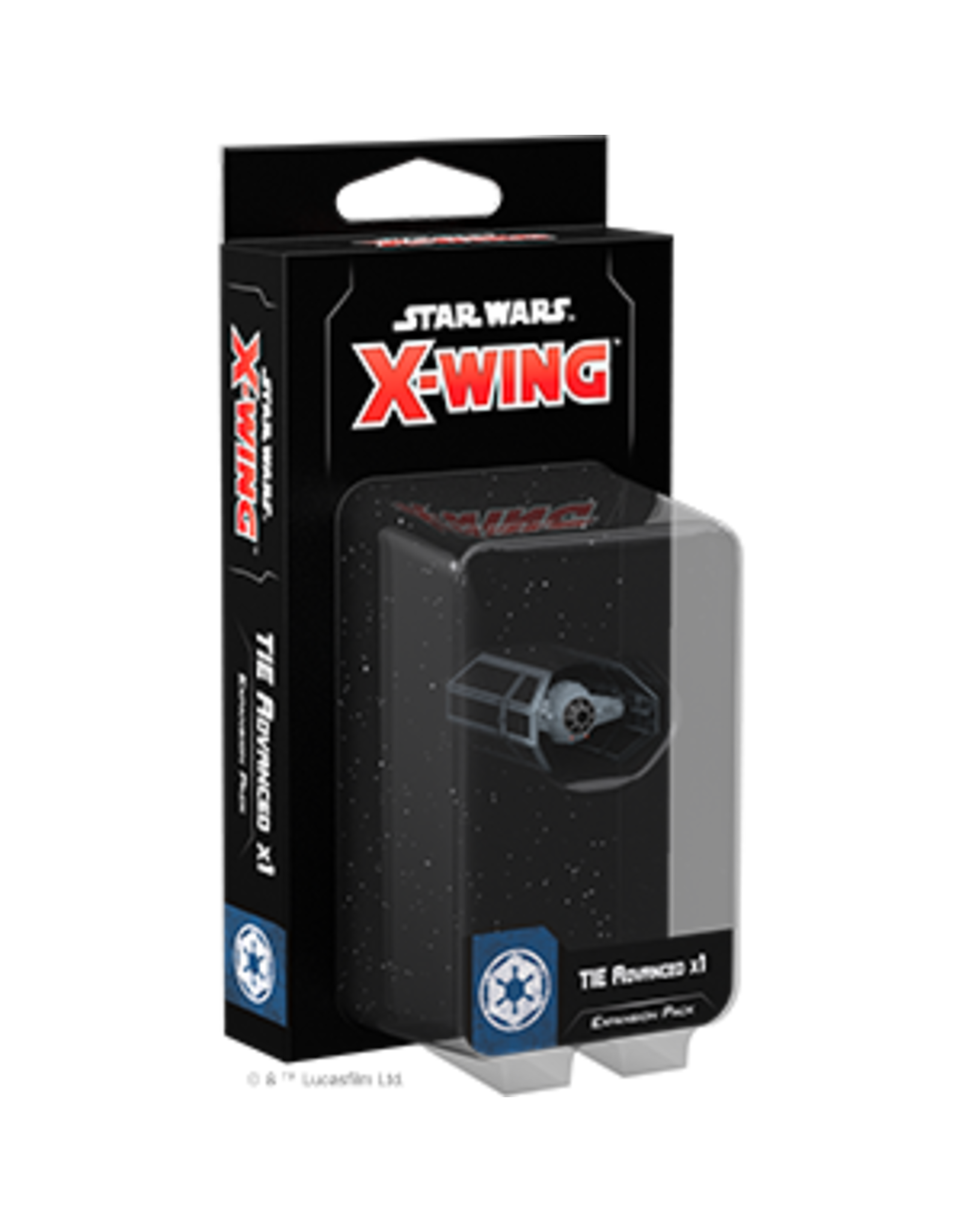 Fantasy Flight Games Star Wars X-Wing 2nd Edition: TIE Advanced x1 Expansion Pack
