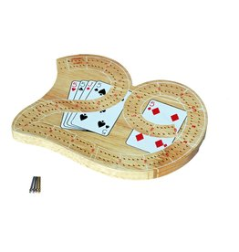 Wood Expressions Mini 29 Cribbage Set