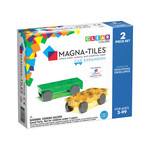Magna-Tiles Magna-Tiles Cars 2p Expansion Set