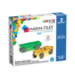 Magna-Tiles Cars 2p Expansion Set