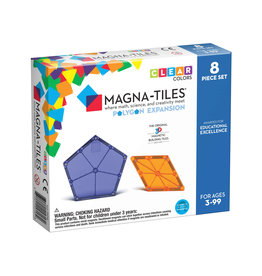 Magna-Tiles Polygons 8p Expansion Set