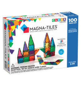 Magna-Tiles Clear Colors 100p Set