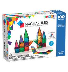 Magna-Tiles Magna-Tiles Clear Colors 100p Set