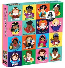 Mudpuppy Little Feminist 500 - Piece Jigsaw Puzzle