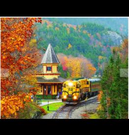 White Mountain Puzzles Scenic Railroad 1000p