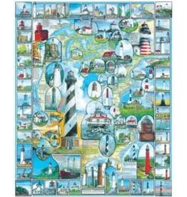 White Mountain Puzzles American Lighthouses 1000p