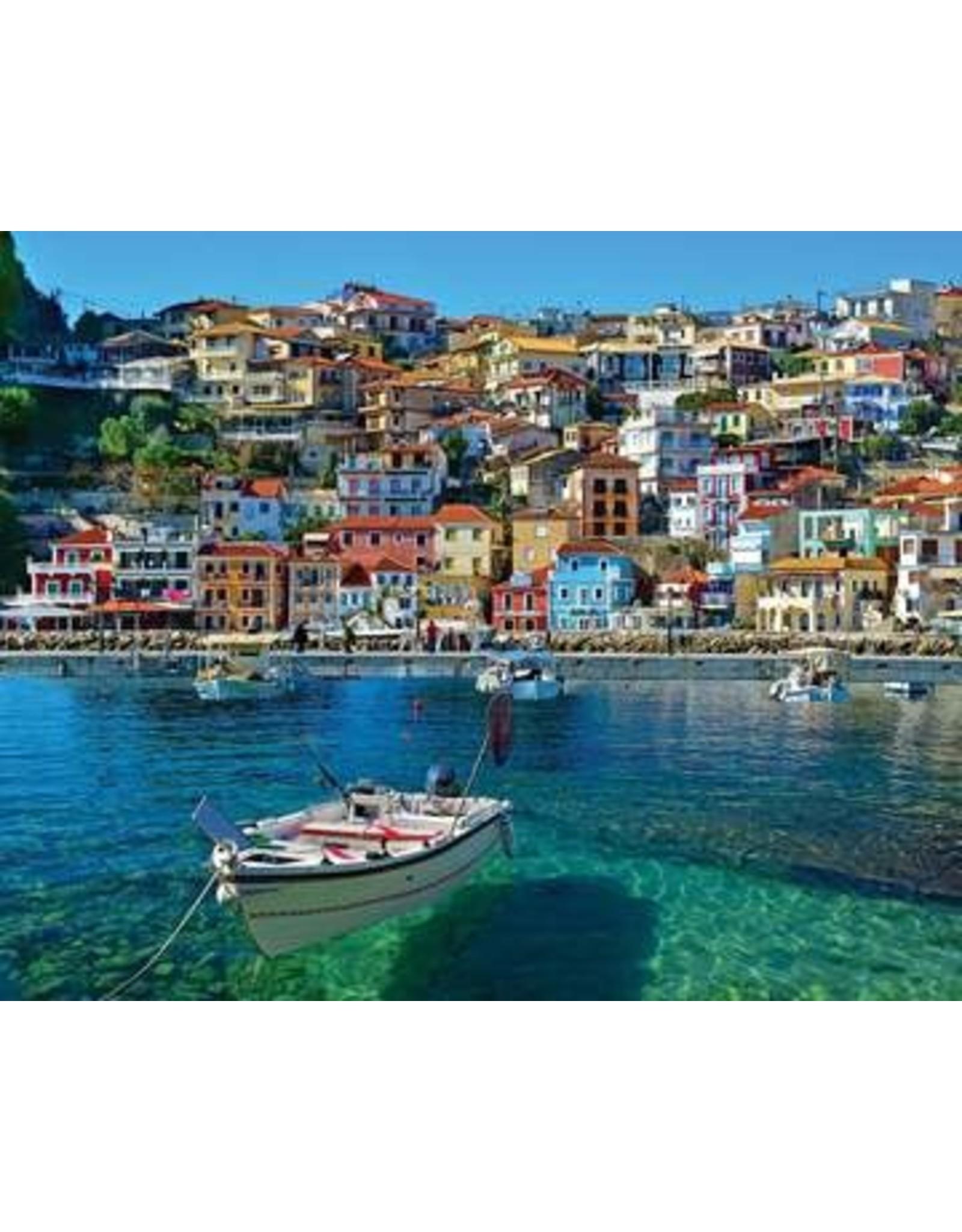 White Mountain Puzzles Parga Greece 1000 pieces