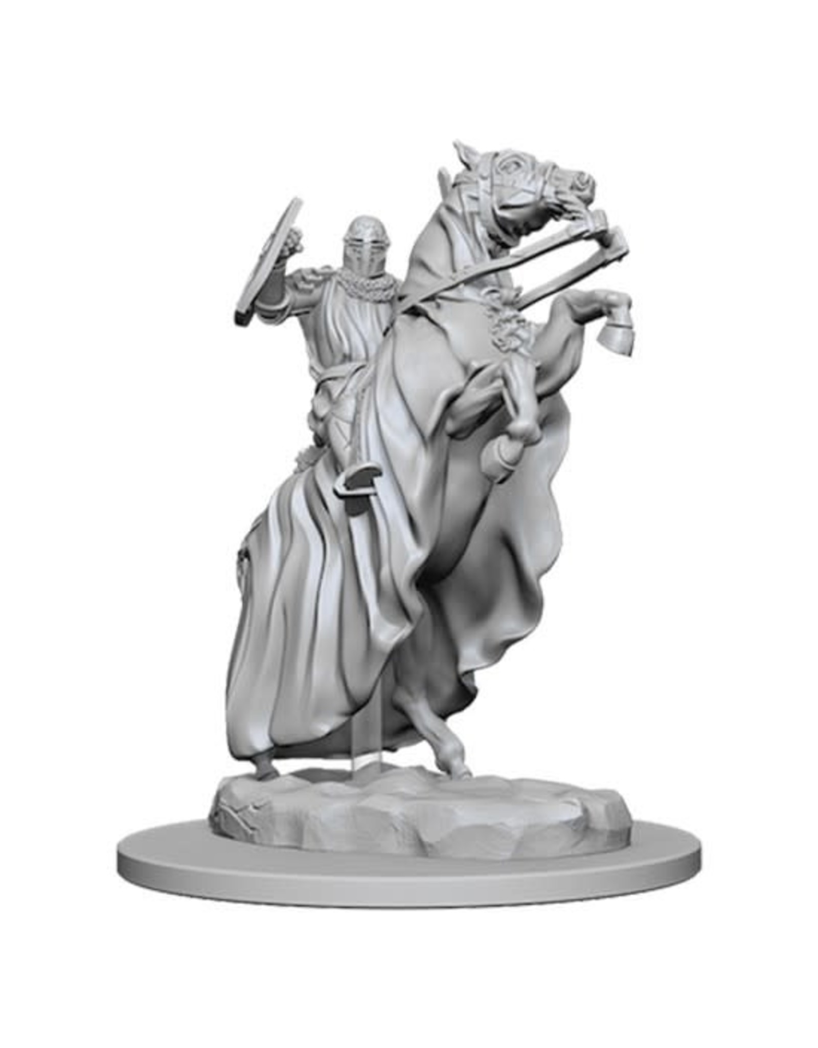 WizKids Pathfinder Minis (unpainted): Knight on Horse Wave 5, 73358