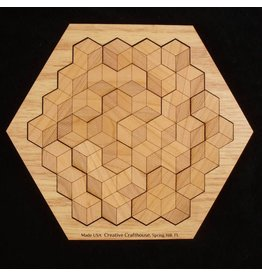 Creative Crafthouse Hexagon 10 in solved base
