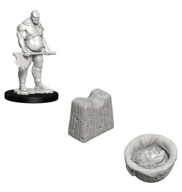 Wizards of the Coast D&D Minis (unpainted): Executioner & Chopping Block Wave 6, 73420