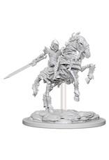 WizKids Pathfinder Minis (unpainted): Skeleton Knight on Horse Wave 5, 73359