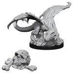 WizKids D&D Minis (unpainted): Black Dragon Wyrmling Wave 10, 73850