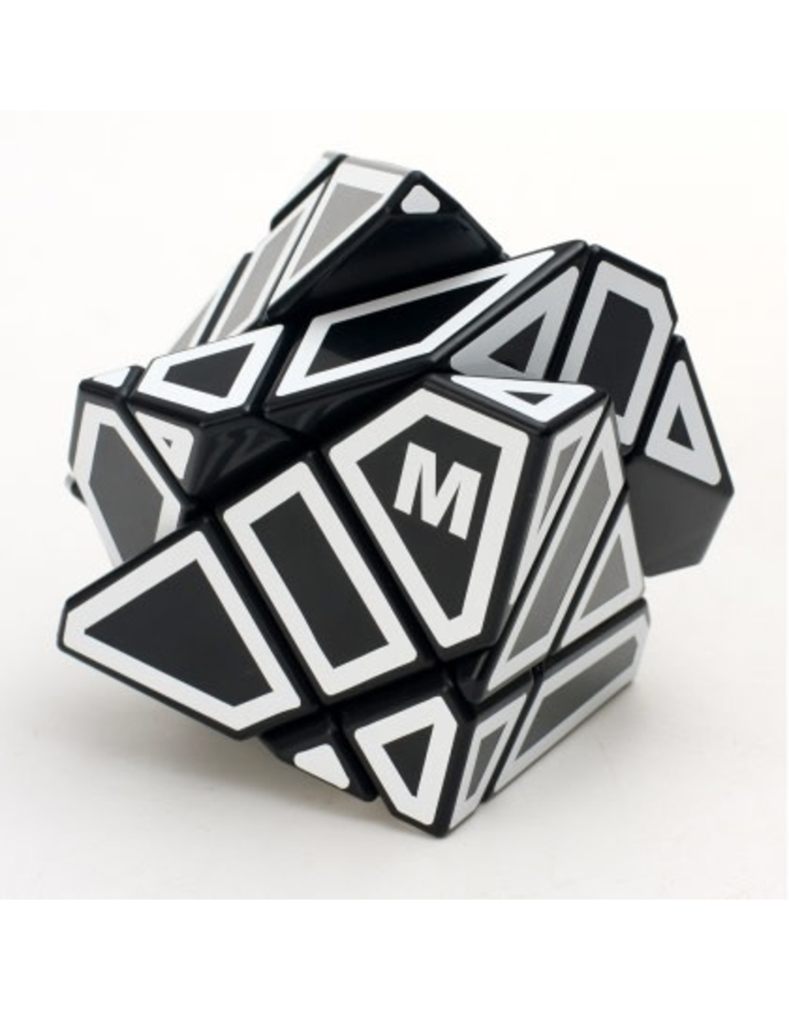 SpeedCubeShop Ninja Ghost Cube Black - White Stickers (SCS)