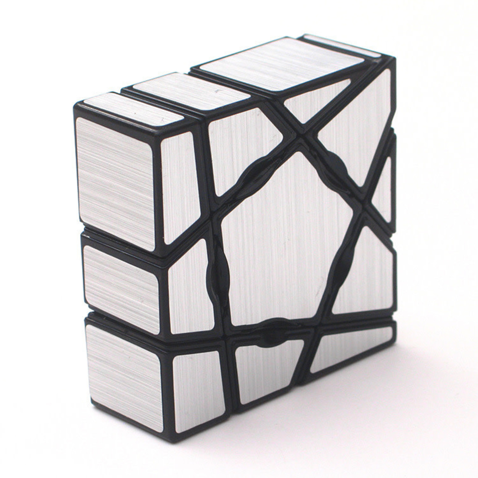 Floppy Ghost Cube Silver Stickers (SCS)