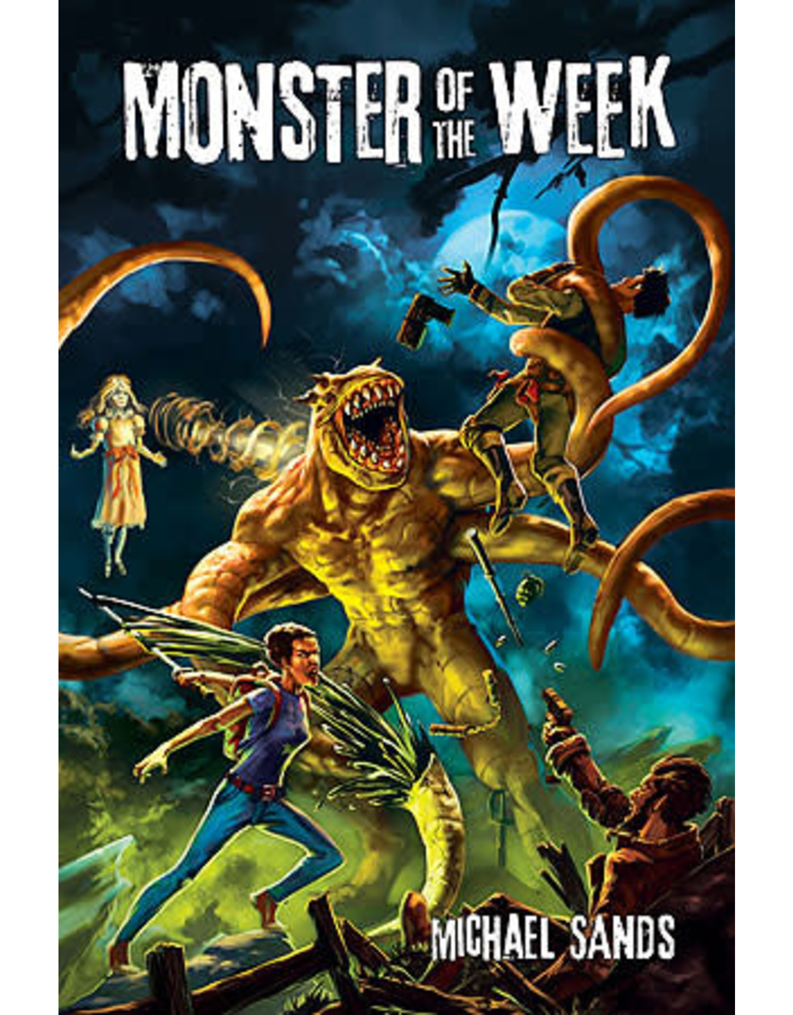Monster of the Week - Labyrinth Games & Puzzles