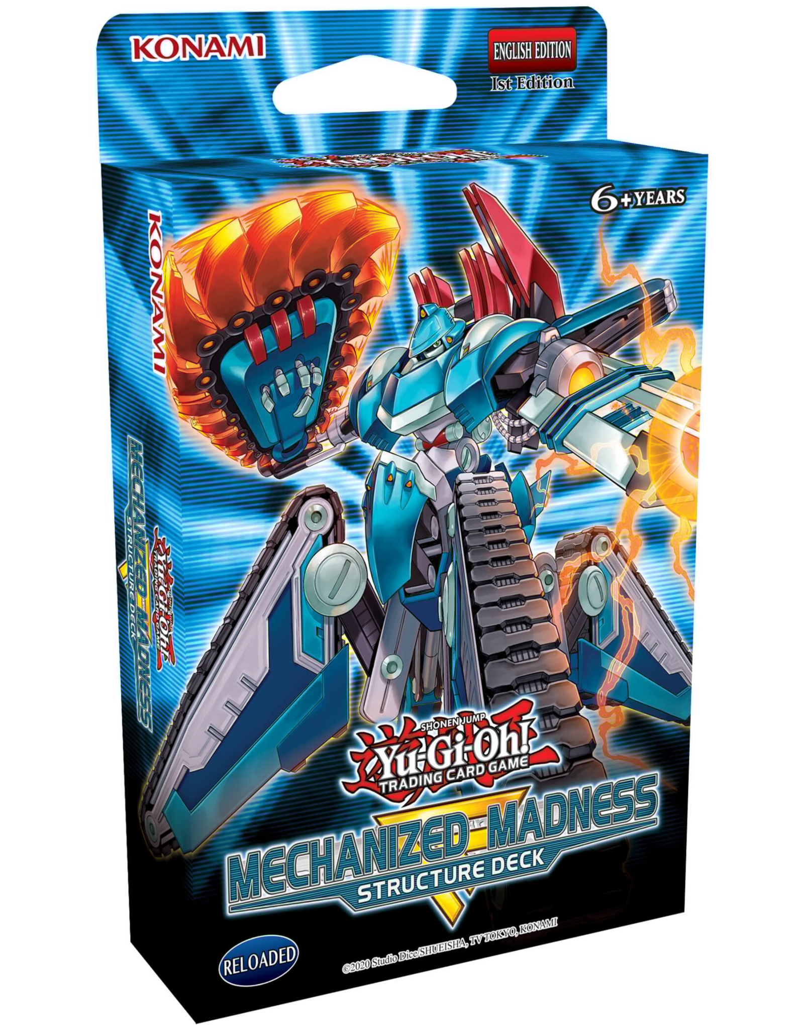 Yu-Gi-Oh Yu-Gi-Oh! : Mechanized Madness Structure Deck