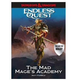 Penguin Random House D&D Endless Quest The Mad Mage's Academy (Hardcover)