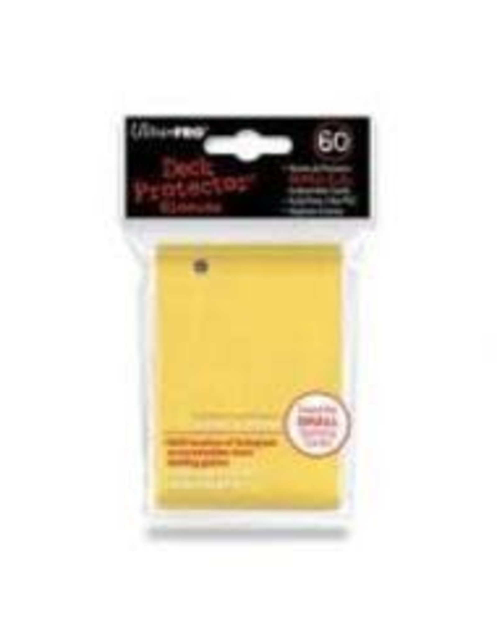 Ultra Pro UltraPro Small Deck Protector Sleeves (Yellow)