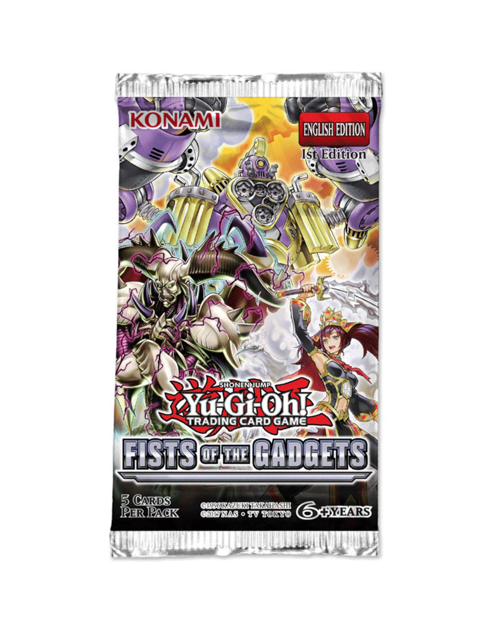 Yu-Gi-Oh Yu-Gi-Oh! : Fists of the Gadgets Booster